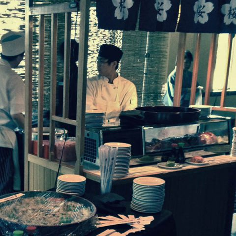 sushi stand